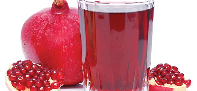 Alimenti che aiutano a migliorare il sesso succo di melograno