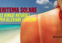 Eritema solare rimedi naturali